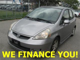 Used 2007 Honda Fit Sport for sale in North York, ON