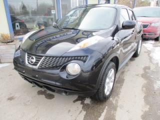 Used 2011 Nissan Juke LOADED SL EDITION 5 PASSENGER 1.6L - DOHC.. AWD.. LEATHER.. HEATED SEATS.. NAVIGATION.. SUNROOF.. BACK-UP CAMERA.. for sale in Bradford, ON