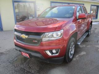Used 2015 Chevrolet Colorado LOADED Z71 EDITION 5 PASSENGER 3.6L - V6.. 4X4.. CREW.. SHORTY.. BACK-UP CAMERA.. BLUETOOTH.. HEATED FRONT SEATS.. for sale in Bradford, ON