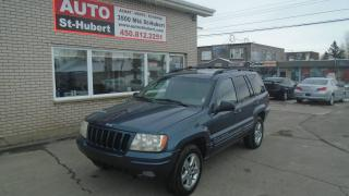 Used 2003 Jeep Grand Cherokee LIMITED 4X4 for sale in Saint-hubert, QC