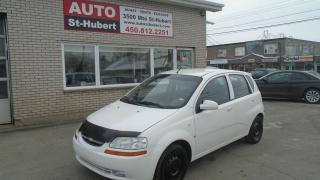 Used 2008 Chevrolet Aveo5 LS for sale in Saint-hubert, QC