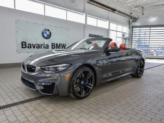 New 2018 BMW M4 Cabriolet for sale in Edmonton, AB