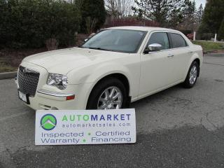 Used 2010 Chrysler 300 LIMITED, LOADED, INSPECTED, FREE WARRANTY, FINANCE! for sale in Surrey, BC