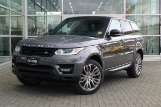 Used 2015 Land Rover Range Rover Sport V8 Supercharged **Dynamic** for sale in Vancouver, BC