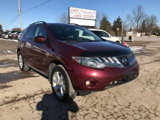 Used 2010 Nissan Murano SL for sale in Komoka, ON