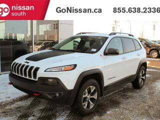 Used 2016 Jeep Cherokee TRAILHAWK: NAVIGATION, LEATHER, PANORAMIC SUNROOF! for sale in Edmonton, AB
