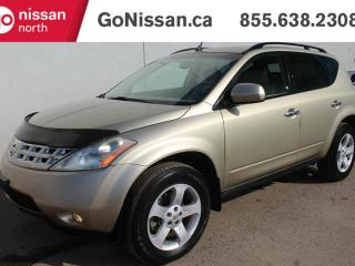 Used 2005 Nissan Murano SL All-wheel Drive for sale in Edmonton, AB