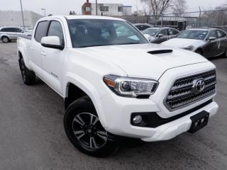 Used 2016 Toyota Tacoma TRD SPORT TRUCK POWER ROOF BLIND SPOT HARD COVER for sale in Toronto, ON