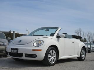 Used 2009 Volkswagen New Beetle S / CONVERTIBLE / EXTENSIVE SERVICE HISTORY for sale in Newmarket, ON