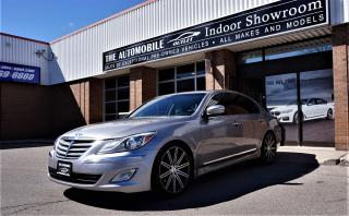 Used 2012 Hyundai Genesis 3.8 V6 Premium Pkg NAVI BACK-UP CAM NO ACCIDENT for sale in Mississauga, ON