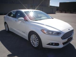 Used 2015 Ford Fusion HYBRID,LEATHER,GAS SAVER for sale in Mississauga, ON