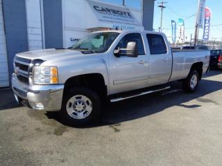 Used 2010 Chevrolet Silverado 3500 LTZ Z71 4x4, DIESEL, Crew Long Box, Leather, Local for sale in Langley, BC