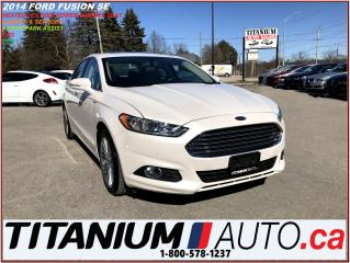 Used 2014 Ford Fusion SE+GPS+Camera+Park Assist+Heated Leather+Sunroof++ for sale in London, ON