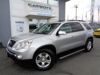 Used 2009 GMC Acadia SLT AWD, Leather, Sunroof, DVD, 8 Passenger for sale in Langley, BC