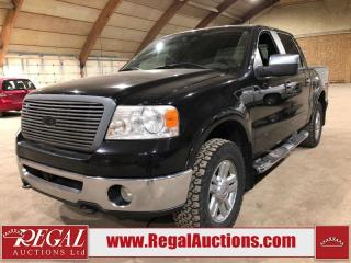 Used 2007 Ford F-150 LARIAT CREW CAB 4WD for sale in Calgary, AB