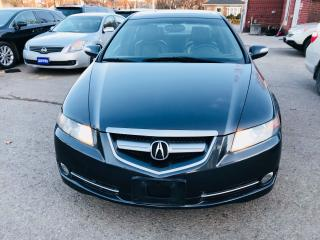 Used 2007 Acura TL W/NAVIGATION PKG for sale in Brampton, ON