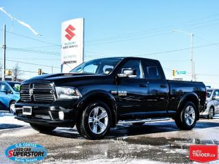 Used 2013 Dodge Ram 1500 Sport ~Nav ~Backup Cam ~Leather ~Air Suspension for sale in Barrie, ON