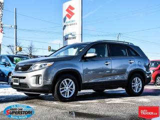 Used 2015 Kia Sorento LX for sale in Barrie, ON
