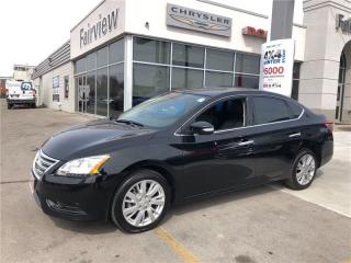 Used 2014 Nissan Sentra SL   Leather   NAV   B/U CAM   Sunroof   BT for sale in Burlington, ON
