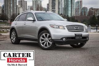 Used 2004 Infiniti FX35 low kms, navi, backup cam, heated leather seats for sale in Vancouver, BC