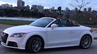 Used 2011 Audi TT SLINE, PREMIUM PKG, LOCAL, NO ACCIDENT, LOW KM for sale in Vancouver, BC