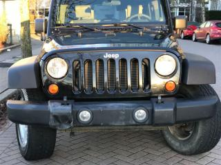 Used 2008 Jeep Wrangler 6SP MANUAL,4DR,4X4,LOCAL,NO ACCIDENT, for sale in Vancouver, BC