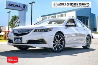 Used 2016 Acura TLX 3.5L SH-AWD w/Tech Pkg Accident Free| Navigation| for sale in Thornhill, ON