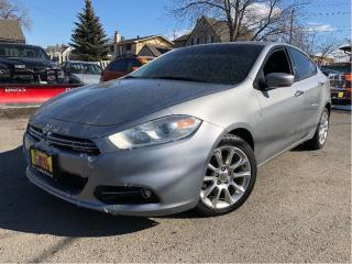 Used 2015 Dodge Dart Limited NAV CAM BIG SCREEN RADIO for sale in St Catharines, ON