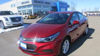 Used 2017 Chevrolet Cruze LT / $138.00 bi-weekly for 84 mths for sale in Arnprior, ON