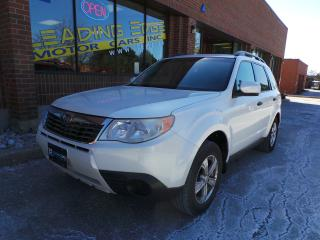 Used 2010 Subaru Forester 2.5 X Outdoor Package Remote Start, Heated Seats for sale in Woodbridge, ON