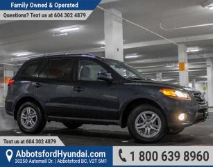 Used 2010 Hyundai Santa Fe GL 3.5 ACCIDENT FREE & LOW KILOMETRES for sale in Abbotsford, BC
