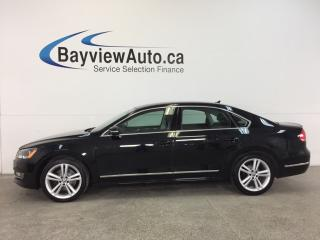 Used 2014 Volkswagen Passat HIGHLINE- 2.5L|REM STRT|ROOF|HTD STS|NAV|FENDER! for sale in Belleville, ON