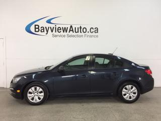 Used 2016 Chevrolet Cruze 2LS- 1.8L|AUTO|A/C|ON STAR|PWR GROUP|LOW KM! for sale in Belleville, ON