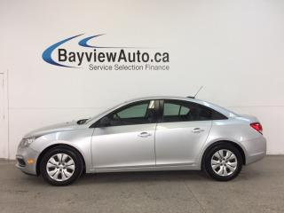 Used 2016 Chevrolet Cruze - 6 SPEED|1.8L|ON STAR|BUDGET BUDDY|LOW KM! for sale in Belleville, ON