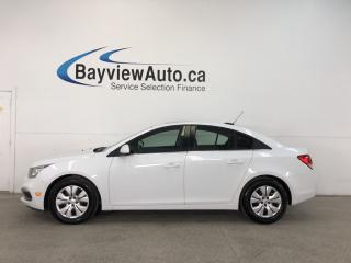 Used 2016 Chevrolet Cruze 1LT- 6 SPD|TURBO|SUNROOF|PIONEER|MY LINK|REV CAM! for sale in Belleville, ON