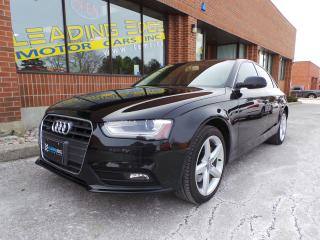 Used 2013 Audi A4 2.0T Premium 6 Speed, Navigation for sale in Woodbridge, ON