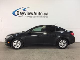 Used 2016 Chevrolet Cruze 1LT- 6 SPEED|TURBO|TINT|MY LINK|REV CAM|ON STAR! for sale in Belleville, ON