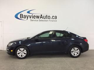 Used 2016 Chevrolet Cruze - 1.8L|AUTO|PWR GROUP|ON STAR! for sale in Belleville, ON