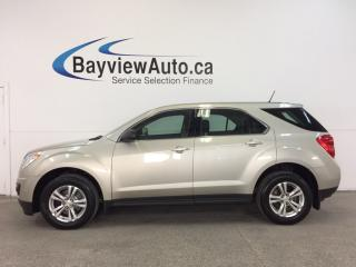 Used 2014 Chevrolet Equinox LS- ALLOYS|ECO MODE|PWR GROUP|ON STAR|LOW KM! for sale in Belleville, ON