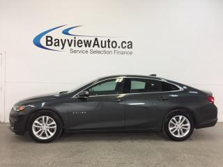 Used 2018 Chevrolet Malibu LT- TURBO|REM STRT|ALLOYS|REV CAM|WIFI|BLUETOOTH! for sale in Belleville, ON
