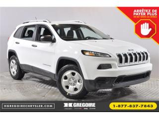 Used 2018 Jeep Cherokee Sport for sale in Saint-jerome, QC