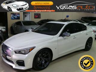 Used 2015 Infiniti Q50 SPORT| NAVI| LTHR| 19ALLOYS for sale in Woodbridge, ON
