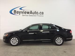 Used 2015 Volkswagen Passat S- TDI|ALLOYS|HTD STS|A/C|BLUETOOTH|CRUISE! for sale in Belleville, ON