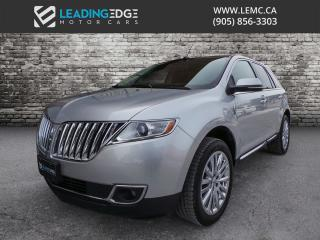 Used 2014 Lincoln MKX Navigation, Heated and Cooled Seats for sale in Woodbridge, ON