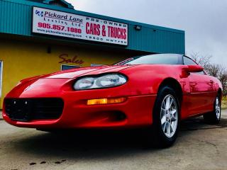 Used 2001 Chevrolet Camaro BASE for sale in Bolton, ON