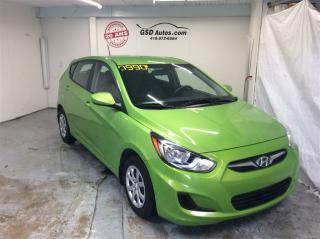 Used 2014 Hyundai Accent GL for sale in L'ancienne-lorette, QC