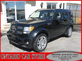 Used 2008 Dodge Nitro R/T 4.0L 4WD LEATHER SUNROOF TV DVD for sale in Toronto, ON