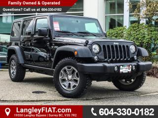 Used 2017 Jeep Wrangler Unlimited Rubicon NO ACCIDENTS! for sale in Surrey, BC