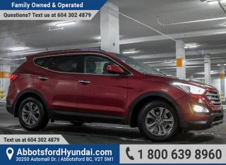 Used 2013 Hyundai Santa Fe Sport 2.0T Premium ONE OWNER & GREAT CONDITION for sale in Abbotsford, BC