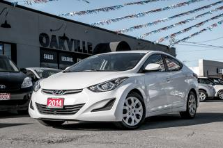 Used 2014 Hyundai Elantra L for sale in Oakville, ON
